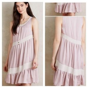Anthropologie Maeve Wildell Swing Dress in Pink